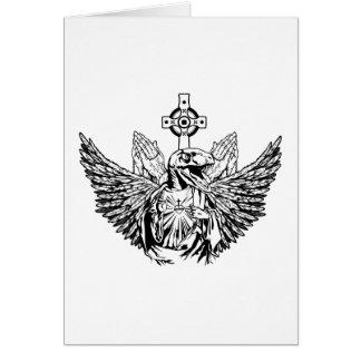 Raptor Jesus Loves You Card