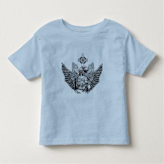 Raptor Jesus Loves You Toddler T-shirt
