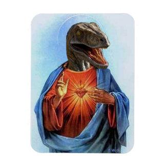 Raptor Jesus Magnet
