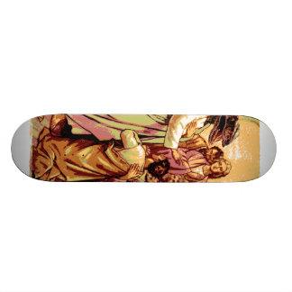 Raptor Jesus Skateboard