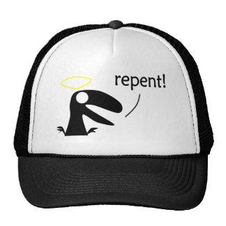 Raptor Jesus Trucker Hat
