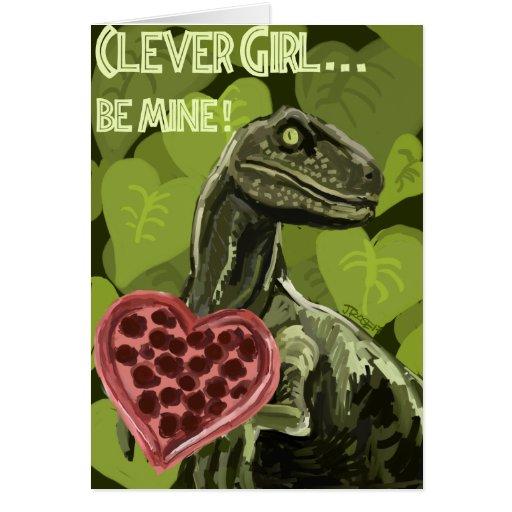Raptor Love Greeting Card