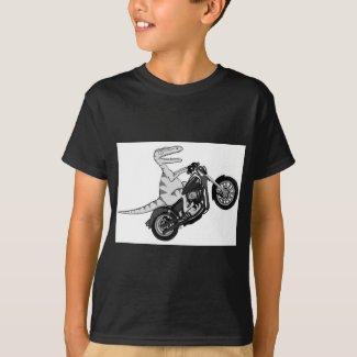 Raptor on a Hog T-Shirt
