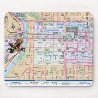 Raptor Philly Invasion Mouse Pad