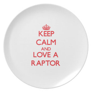Raptor Party Plates
