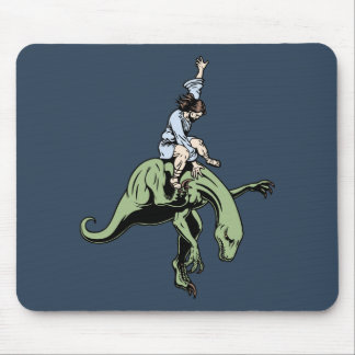 Raptor Rodeo Jesus Mouse Pads