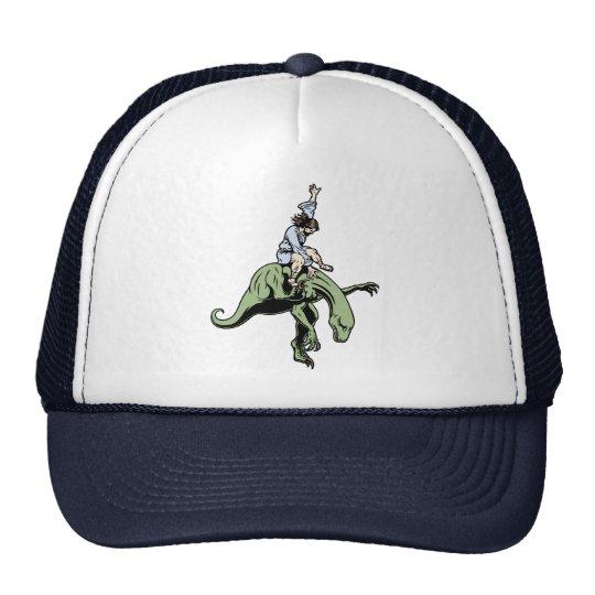 Raptor Rodeo Jesus Trucker Hat
