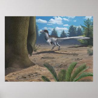 Raptor Tracks Print