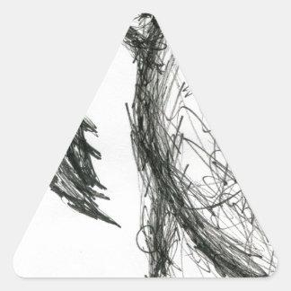 Raptor Vultaris Triangle Sticker