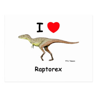 Raptorex Postcard