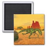 Raptors 2 Inch Square Magnet