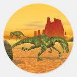 Raptors Classic Round Sticker
