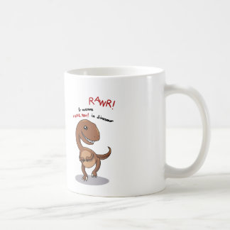 Raptor's need love too rawr Rawr, RAWR :) Coffee Mug