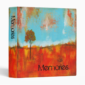 Rapture Abstract Landscape Tree Art Painting Binder