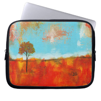 Rapture Abstract Landscape Tree Art Painting Computer Sleeve