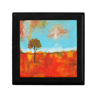 Rapture Abstract Landscape Tree Art Painting Gift Box