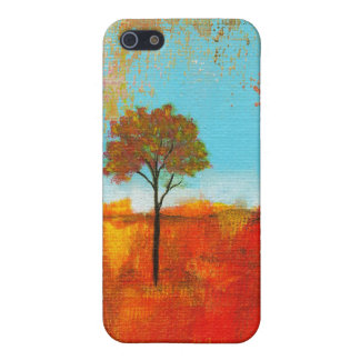 Rapture Abstract Landscape Tree Art Painting iPhone SE/5/5s Cover