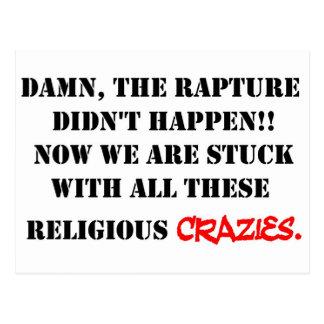 Rapture Crazies Postcard