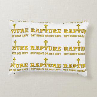 Rapture - Cross Decorative Pillow