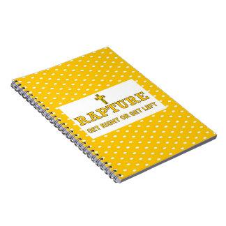 Rapture - Cross Notebook