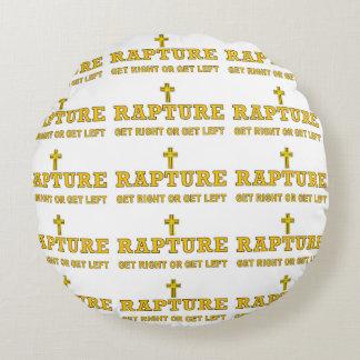 Rapture - Cross Round Pillow