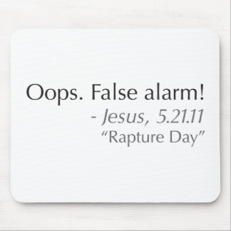 Rapture Day 2011 Mousepad