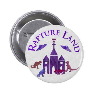 Rapture Land Pinback Button