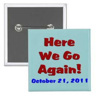 Rapture October 21 Button