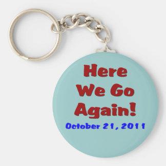Rapture October 21 Keychain