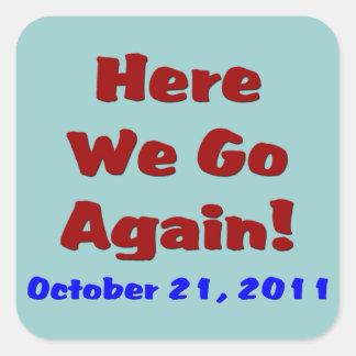 Rapture October 21 Sticker