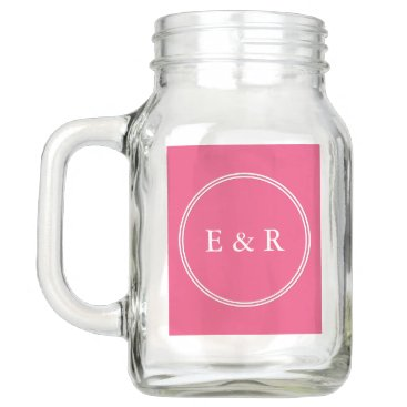 Beach Themed Rapture Rose Pink - Spring 2018 London Color Mason Jar