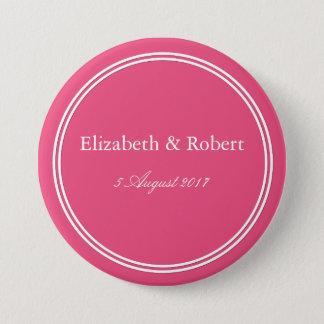 Rapture Rose Pink - Spring 2018 London Color Pinback Button