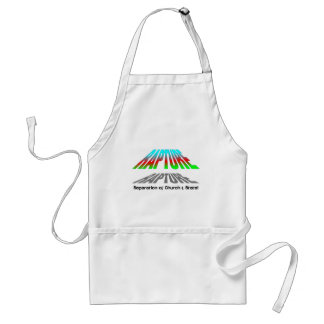 Rapture, Separation of church and state christian Adult Apron