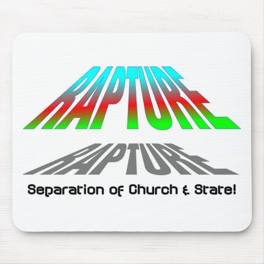 Rapture, Separation of church and state christian Mouse Pad