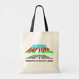 Rapture, Separation of church and state christian Tote Bag