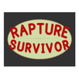 Rapture Survivor Postcard