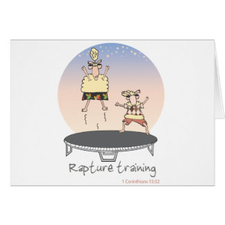 Rapture Training Card