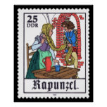 Rapunzel 25 DDR 1978 Print