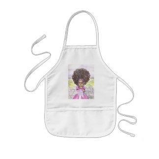 Rapunzel Afro Child's Apron