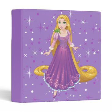 Disney Themed Rapunzel And Pascal 3 Ring Binder
