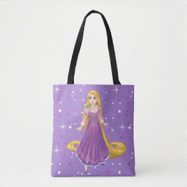 Disney Themed Rapunzel And Pascal Tote Bag