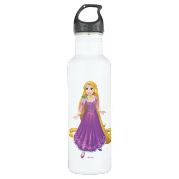 Disney Themed Rapunzel And Pascal Water Bottle