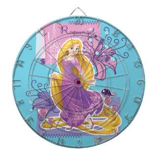 Rapunzel - Artistic Princess Dart Board