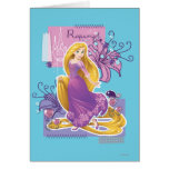 Rapunzel - Artistic Princess Greeting Card