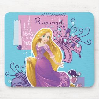 Rapunzel - Artistic Princess Mouse Pad