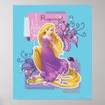 Rapunzel - Artistic Princess Poster