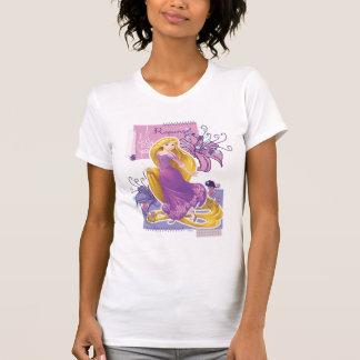Rapunzel - Artistic Princess T Shirts