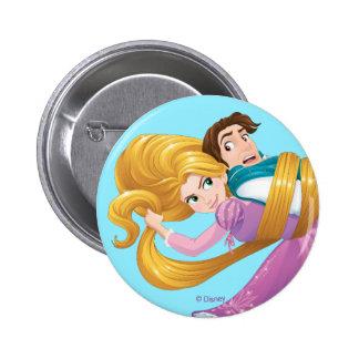 Rapunzel | Bad Hair Day Button