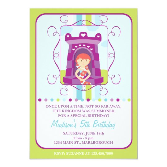 Rapunzel birthday invitation zazzle rapunzel birthday invitation filmwisefo