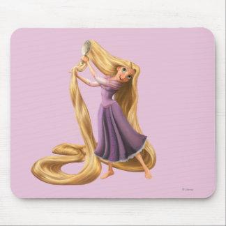 Rapunzel Brushing Hair 2 Mouse Pad